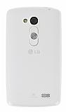 LG L Fino Şeffaf Silikon Kılıf