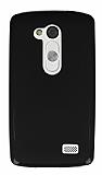 LG L Fino Siyah Silikon Kılıf