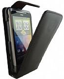 HTC Desire Z Kapakl� Siyah Deri K�l�f