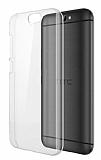 HTC One A9s Şeffaf Kristal Kılıf