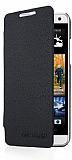 HTC One Mini �nce Yan Kapakl� Siyah K�l�f