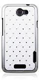 HTC One X Ekose Ta�l� Beyaz Sert Rubber K�l�f
