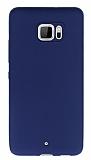 HTC U Ultra Mat Lacivert Silikon Kılıf