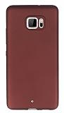 HTC U Ultra Mat Bordo Silikon Kılıf