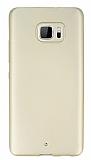 HTC U Ultra Mat Gold Silikon Kılıf