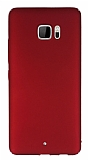HTC U Ultra Tam Kenar Koruma Bordo Rubber Kılıf