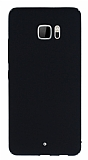 HTC U Ultra Tam Kenar Koruma Siyah Rubber Kılıf
