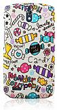 Huawei Ascend G610 Candy Sert Mat Rubber K�l�f