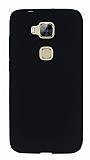 Huawei G8 Mat Siyah Silikon Kılıf