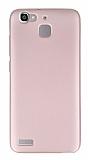 Huawei GR3 Mat Rose Gold Silikon Kılıf