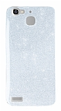 Huawei GR3 Simli Silver Silikon Kılıf