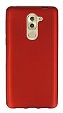 Huawei GR5 2017 Mat Kırmızı Silikon Kılıf