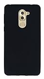 Huawei GR5 2017 Mat Siyah Silikon Kılıf