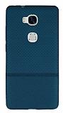 Huawei GR5 Ultra İnce Noktalı Yeşil Silikon Kılıf