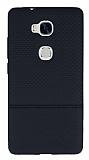 Huawei GR5 Ultra İnce Noktalı Siyah Silikon Kılıf
