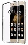 Huawei Honor 8 Şeffaf İnce Kristal Kılıf
