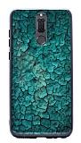 Huawei Mate 10 Lite Marble Yeşil Silikon Kılıf