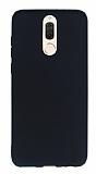 Huawei Mate 10 Lite Mat Siyah Silikon Kılıf