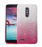 Huawei Mate 10 Lite Simli Pembe Silikon Kılıf