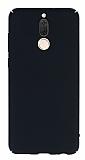 Huawei Mate 10 Lite Tam Kenar Koruma Siyah Rubber Kılıf