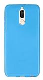 Huawei Mate 10 Lite Ultra İnce Mavi Silikon Kılıf