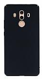 Huawei Mate 10 Pro Tam Kenar Koruma Siyah Rubber Kılıf