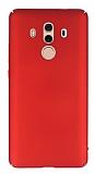 Huawei Mate 10 Pro Tam Kenar Koruma Kırmızı Rubber Kılıf