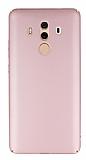 Huawei Mate 10 Pro Tam Kenar Koruma Rose Gold Rubber Kılıf