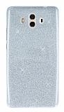 Huawei Mate 10 Simli Silver Silikon Kılıf