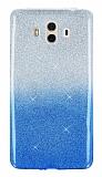 Huawei Mate 10 Simli Mavi Silikon Kılıf