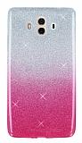 Huawei Mate 10 Simli Pembe Silikon Kılıf