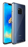 Dafoni Clear Hard Huawei Mate 20 Pro Ultra Koruma Kılıf