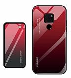 Huawei Mate 20 Pro Manyetik Şarj Özelikli Powerbank ve Kırmızı Kılıf