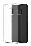 Huawei Mate 20 Pro Ultra İnce Şeffaf Silikon Kılıf