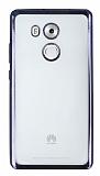 Huawei Mate 8 Siyah Kenarlı Şeffaf Silikon Kılıf