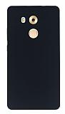 Huawei Mate 8 Mat Siyah Silikon Kılıf