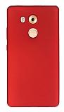 Huawei Mate 8 Mat Kırmızı Silikon Kılıf