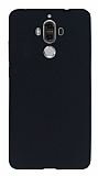 Huawei Mate 9 Ultra İnce Mat Siyah Silikon Kılıf