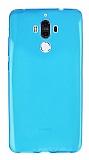 Huawei Mate 9 Ultra İnce Mavi Silikon Kılıf