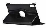 Huawei MatePad 10.4 360 Derece Döner Standlı Siyah Deri Kılıf