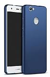 Huawei Nova Tam Kenar Koruma Lacivert Rubber Kılıf