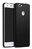 Huawei Nova Tam Kenar Koruma Siyah Rubber Kılıf