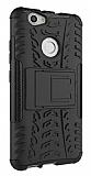 Huawei Nova Ultra Süper Koruma Standlı Siyah Kılıf