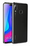 Huawei P Smart 2019 Ultra İnce Şeffaf Silikon Kılıf