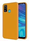 Eiroo Lansman Huawei P Smart 2020 Sarı Silikon Kılıf
