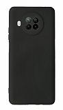 Xiaomi Redmi Note 9 Pro 5G Kamera Korumalı Siyah Silikon Kılıf