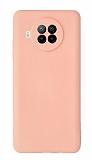 Xiaomi Redmi Note 9 Pro 5G Kamera Korumalı Açık Pembe Silikon Kılıf