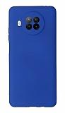 Xiaomi Redmi Note 9 Pro 5G Kamera Korumalı Lacivert Silikon Kılıf