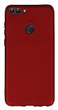 Huawei P Smart Mat Kırmızı Silikon Kılıf