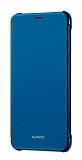 Huawei P Smart Orjinal Mavi Kapaklı Kılıf